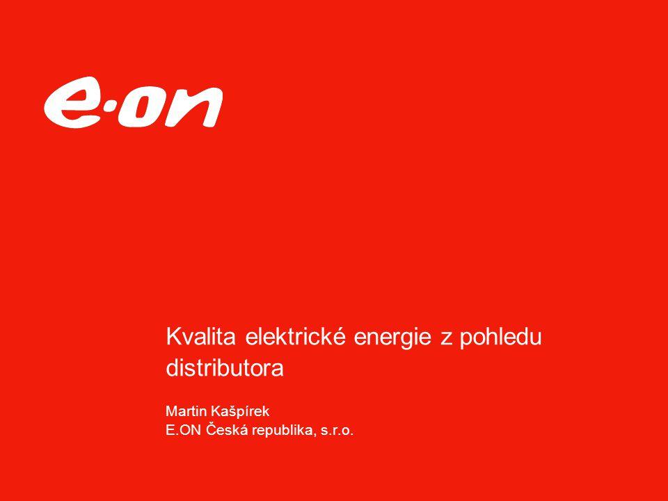 """Strana 2Téma Datum Oblast Aktuálnost problematiky kvality elektřiny  Ekonomický efekt - Sankce a slevy za nekvalitní dodávku  Právní efekt – zavazujeme se ke """"kvalitě ve smlouvě o připojení"""