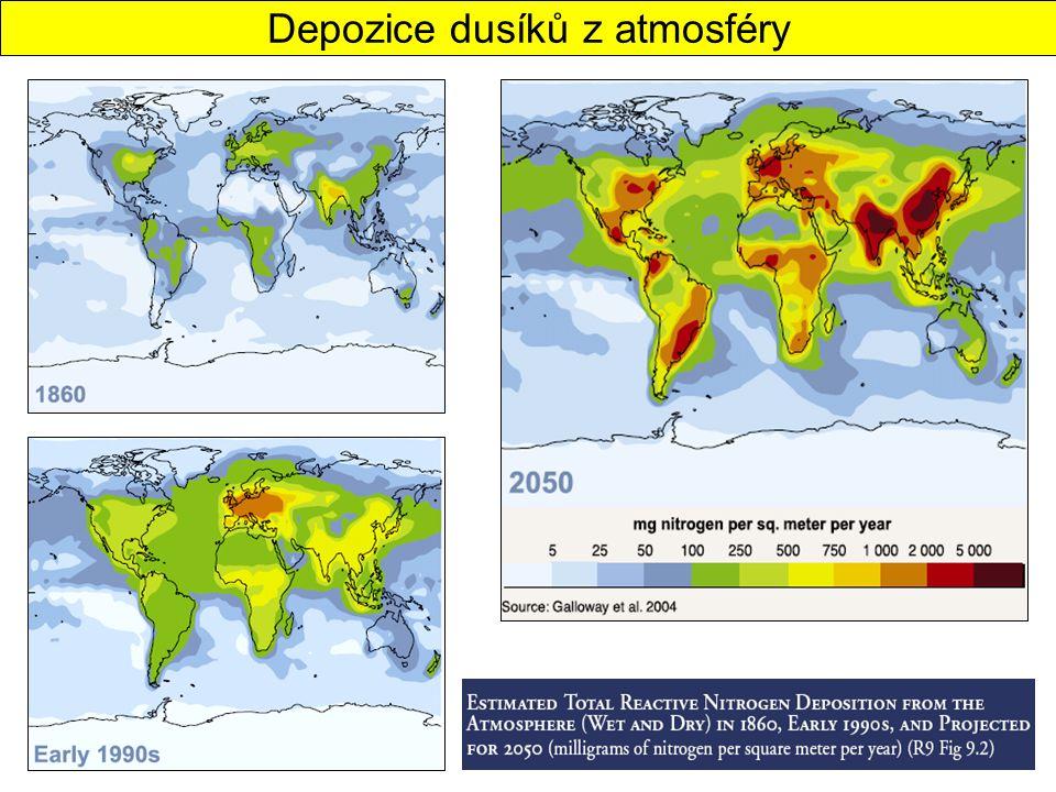 Depozice dusíků z atmosféry