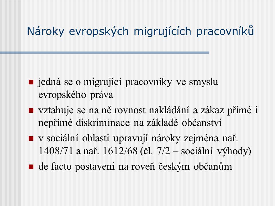 Dávky sociální pomoci na základě zákona č.