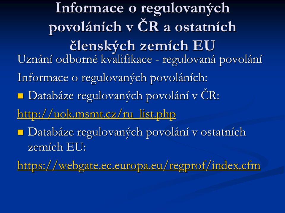 IMI systém- informační systém vnitřního trhu Jedná se o projekt Evropské komise, jehož cílem je vytvořit informační systém, který propojí kompetentní úřady jednotlivých členských států, zabývající se správou a implementací volného pohybu na vnitřním trhu EU a zajistí tak jejich efektivní spolupráci a vzájemnou komunikaci.