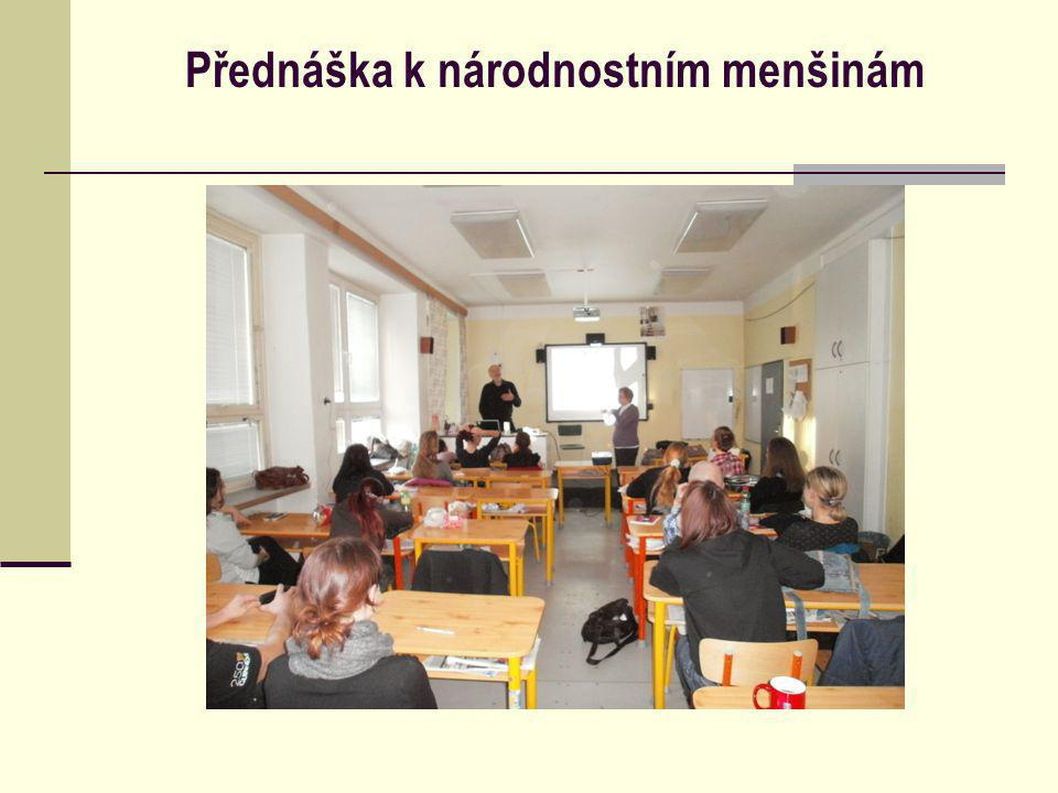 Přednáška k národnostním menšinám