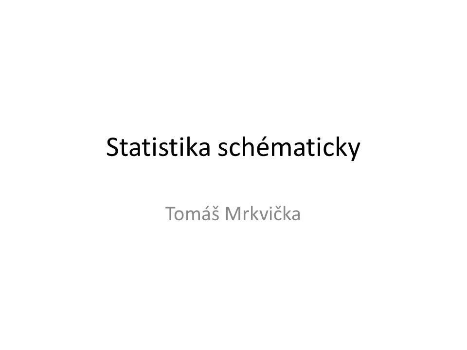 Statistika schématicky Tomáš Mrkvička