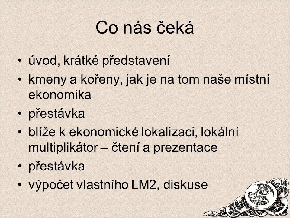 www.thinktank.cz LM3 na Severovýchodě Rok 2004 rozsáhlý výzkum dodavatelů krajského úřadu LM3 = 2,19, tzn.