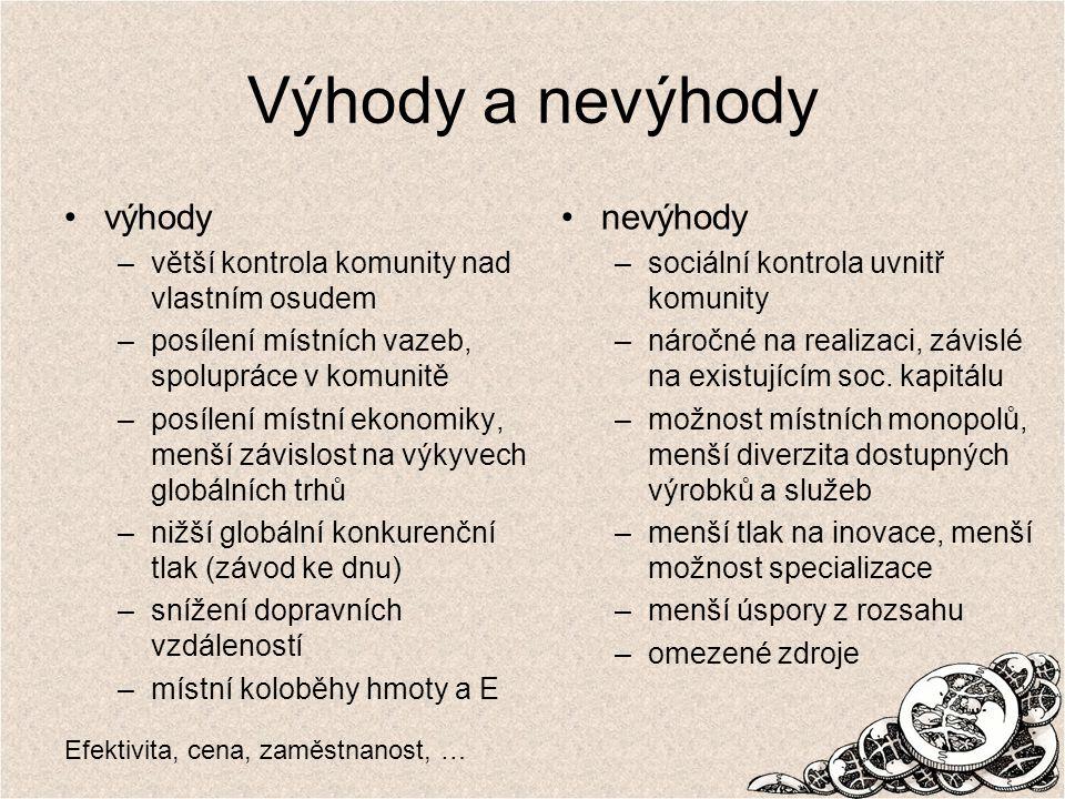 www.thinktank.cz Jak měřit lokální ekonomiku.Jednoduchý ukazatel: tzv.