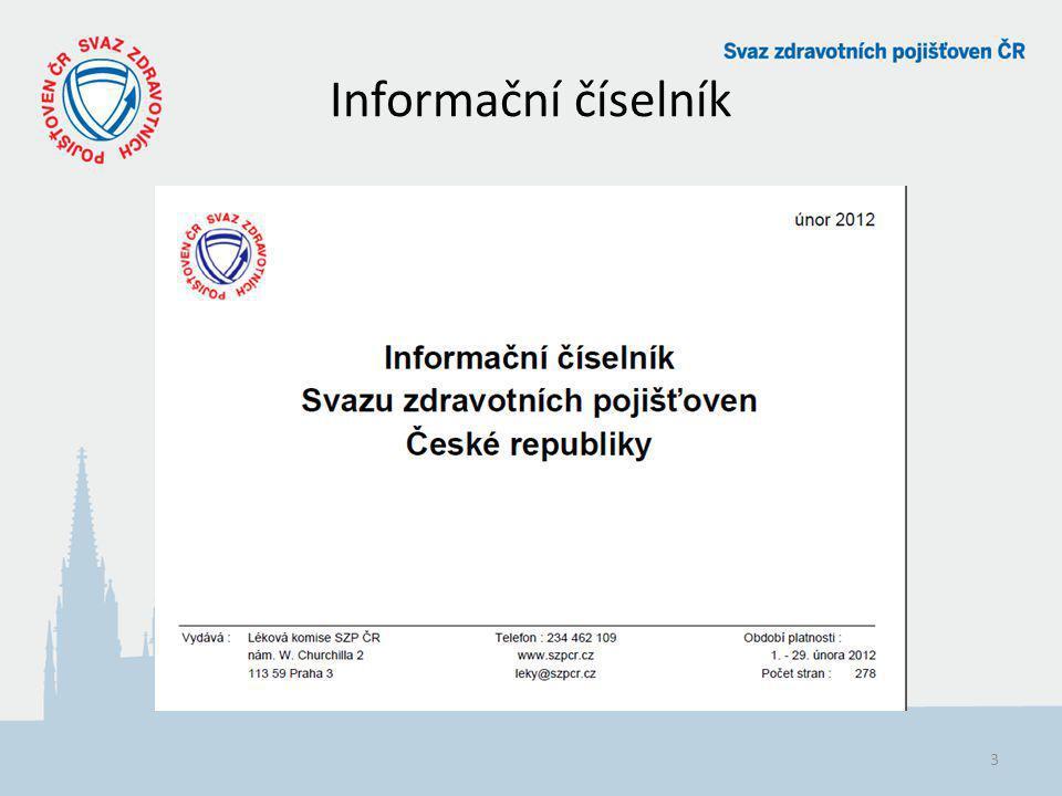 Informační číselník 3