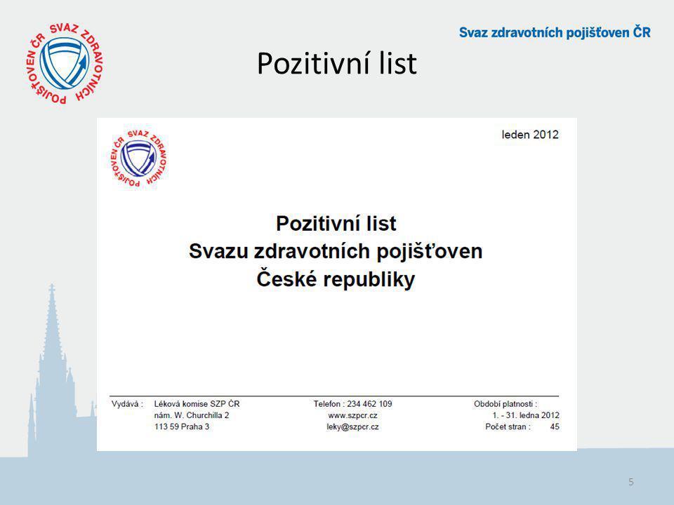 Pozitivní list 5