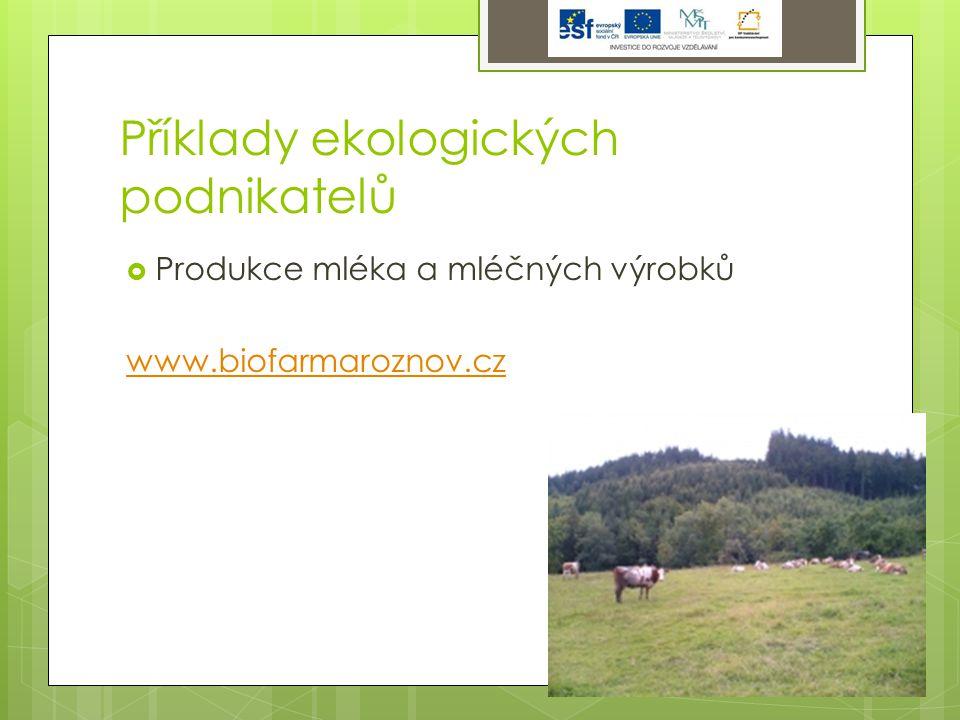 Výrobní oblasti v ČR