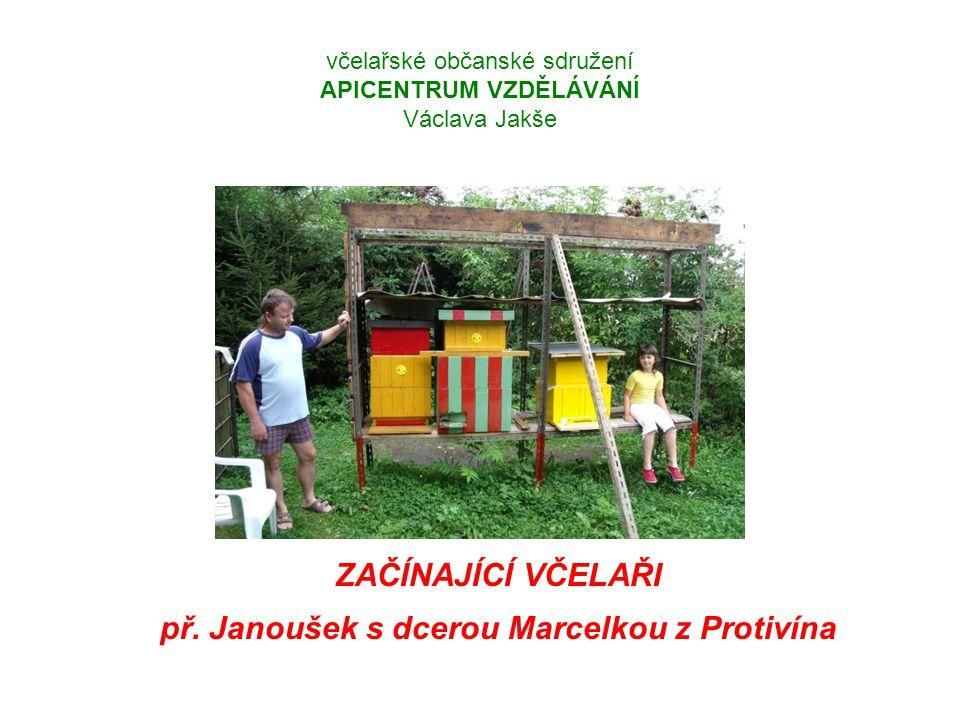 včelařské občanské sdružení APICENTRUM VZDĚLÁVÁNÍ Václava Jakše ZAČÍNAJÍCÍ VČELAŘI př.