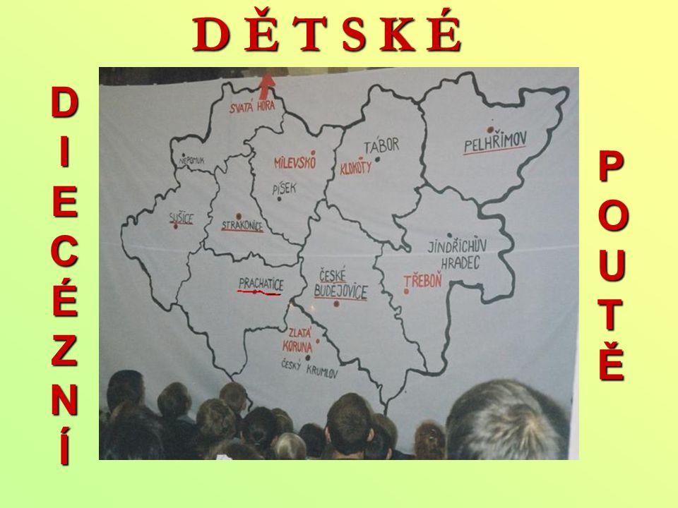 R. 2003 – DDP Třeboň Téma: sv. Fantišek z Assisi putovní obraz