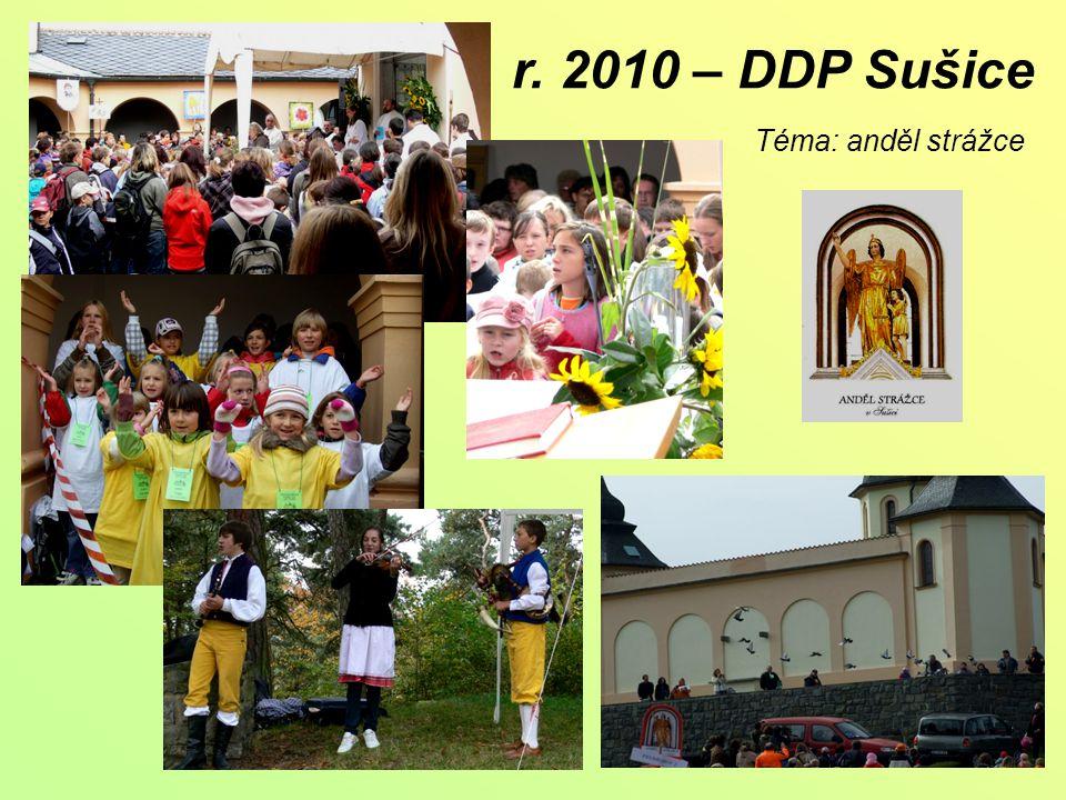 r. 2010 – DDP Sušice Téma: anděl strážce