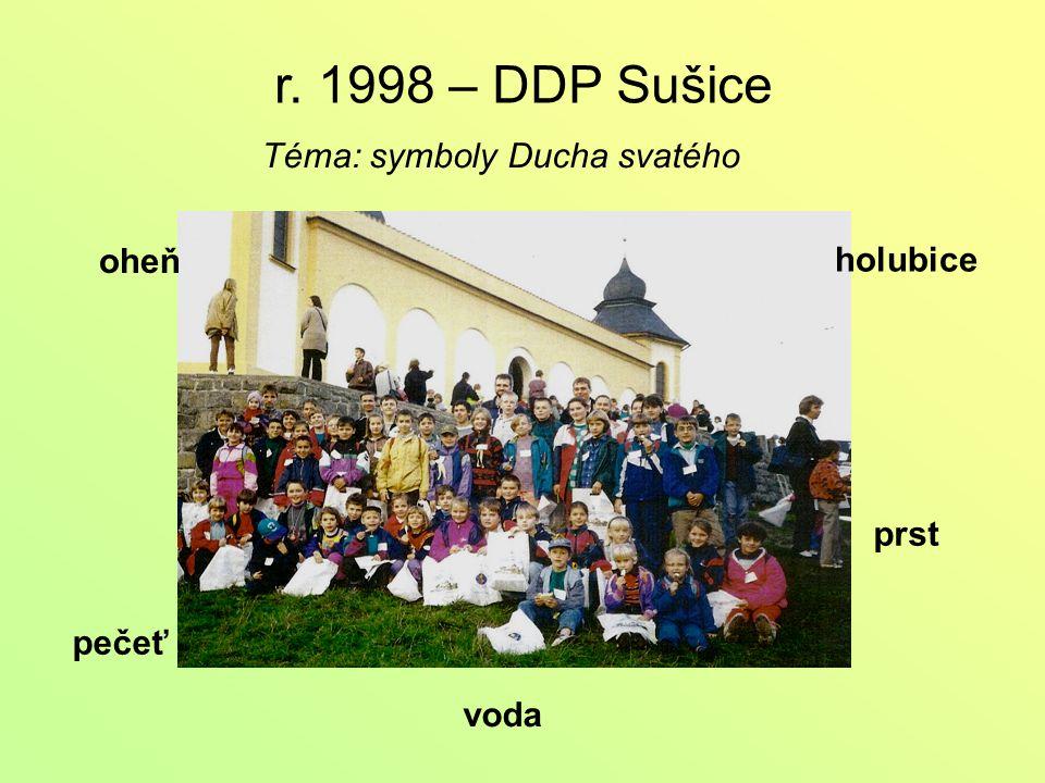 r. 1999 – DDP Milevsko Téma: Bůh Otec – Stvořitel