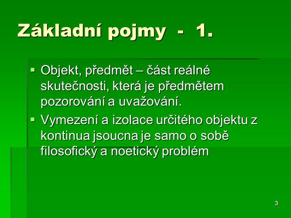 4 Základní pojmy 2.