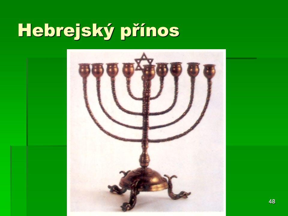 48 Hebrejský přínos