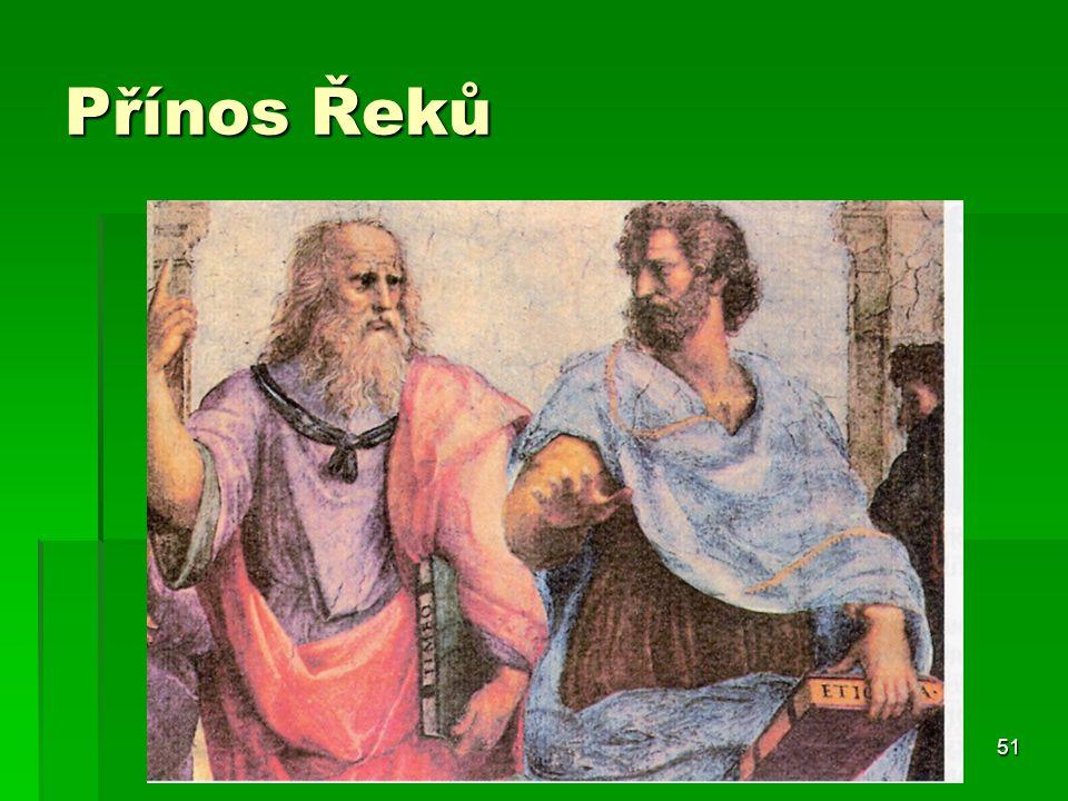 51 Přínos Řeků