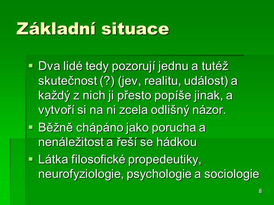 """119 Nevědomé vlivy  Traumata, křivdy  Asociace  """"Sběrné oblasti"""