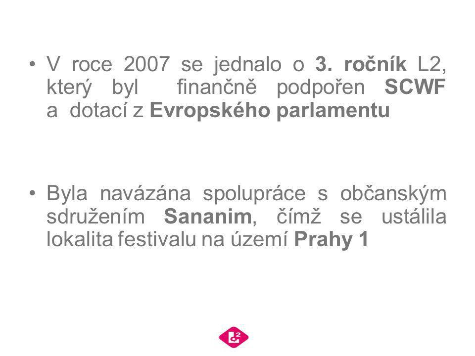 V roce 2007 se jednalo o 3. ročník L2, který byl finančně podpořen SCWF a dotací z Evropského parlamentu Byla navázána spolupráce s občanským sdružení