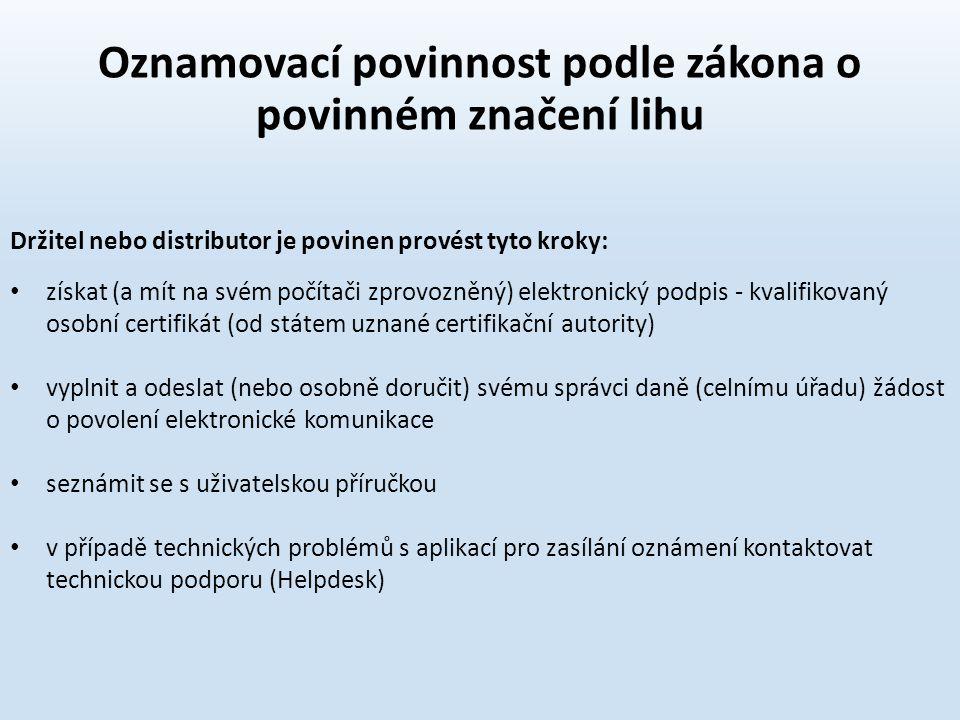 získat (a mít na svém počítači zprovozněný) elektronický podpis - kvalifikovaný osobní certifikát (od státem uznané certifikační autority) vyplnit a o