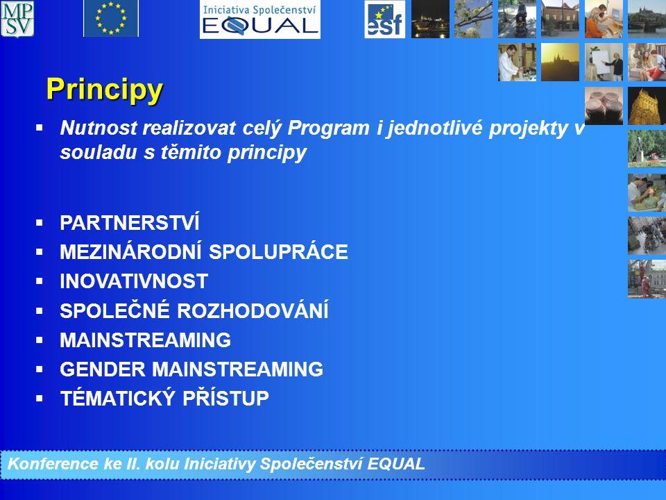 Priority a opatření CIP EQUAL (6) Priorita 5: Pomoc žadatelům o azyl v přístupu na trh práce  Opatření 5.1.
