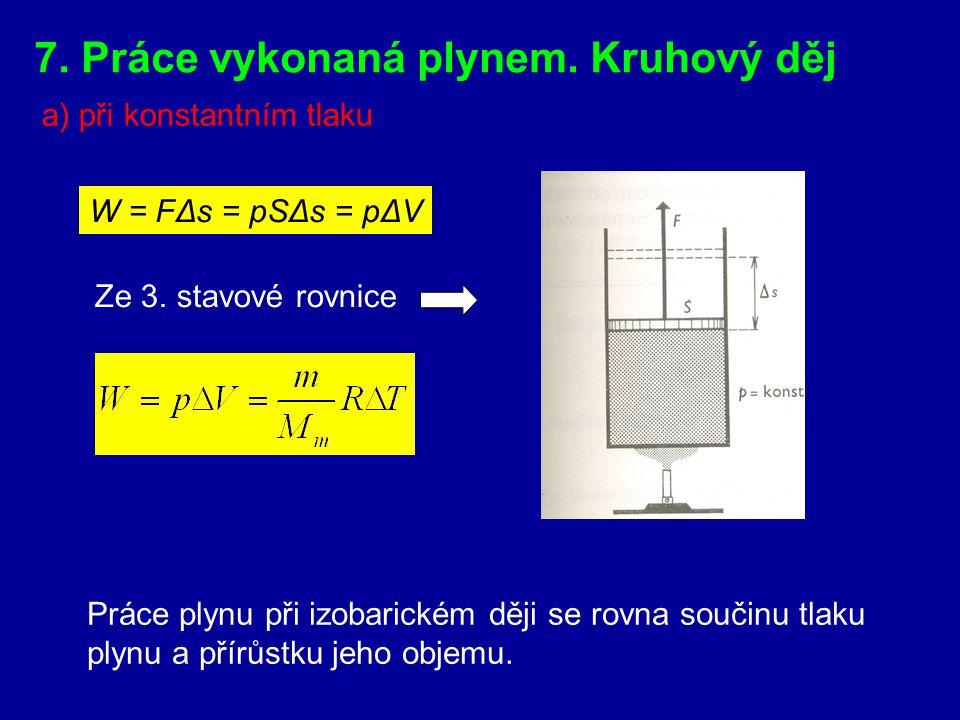 Dochází-li k adiabatickému zmenšování objemu plynu (komprese) působením vnější síly na píst, pak se teplota plynu zvětšuje. Při adiabatickém zvětšován