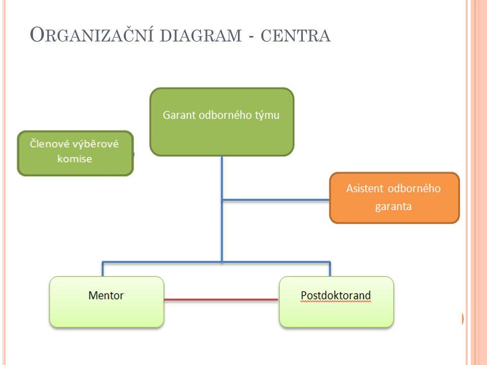 O RGANIZAČNÍ DIAGRAM - CENTRA 18