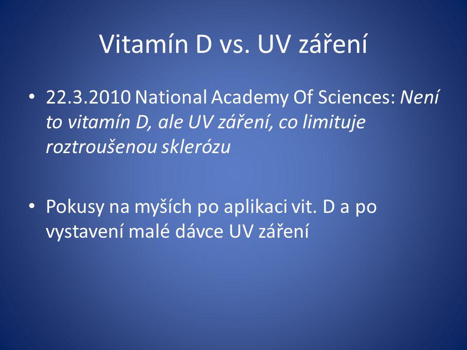 Vitamín D vs.