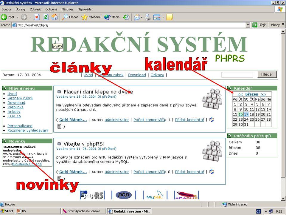 JAK ZAČÍT ? www.phprs.cz www.supersvet.cz