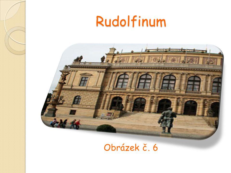 Rudolfinum Obrázek č. 6
