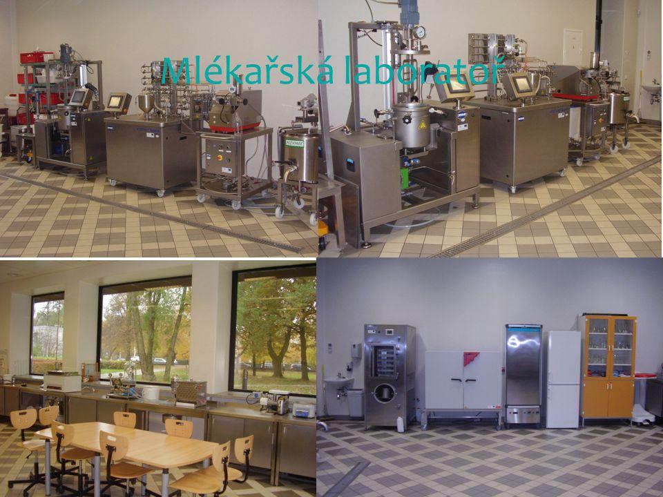 Mlékařská laboratoř