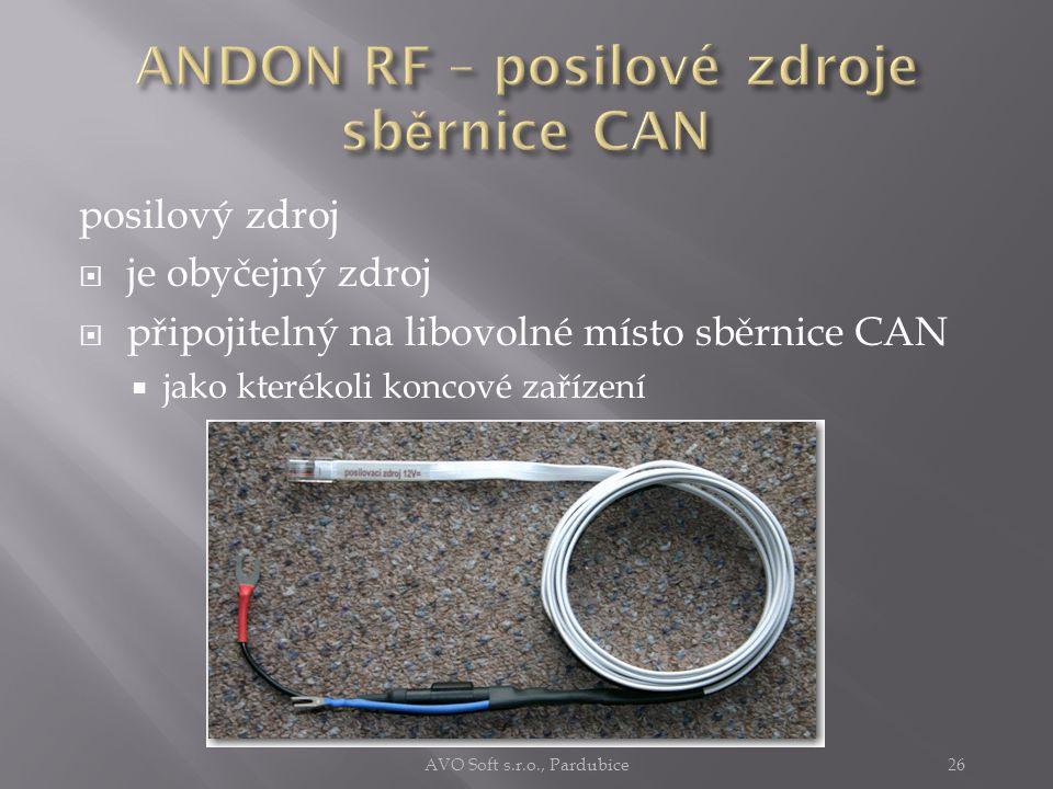 Sběrnice CAN je schopna  překonat poměrně velké vzdálenosti (1500 m)  připojit větší množství koncových zařízení (100) Proto je někdy nutné (při využití maximálních možností)  na sběrnici kompenzovat úbytky napájecího napětí.