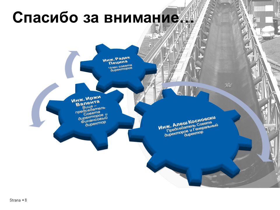 Prezentace společnosti SE-MI Technology, a.s. / 2012Strana  8 Cпасибо за внимание…