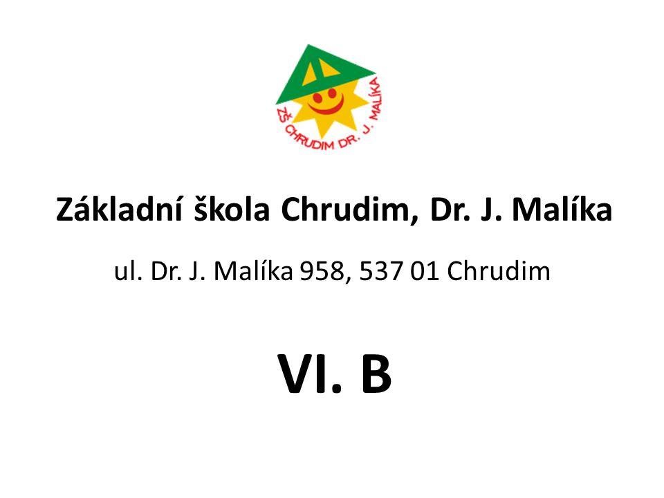 Základní škola Chrudim, Dr. J. Malíka ul. Dr. J. Malíka 958, 537 01 Chrudim VI. B