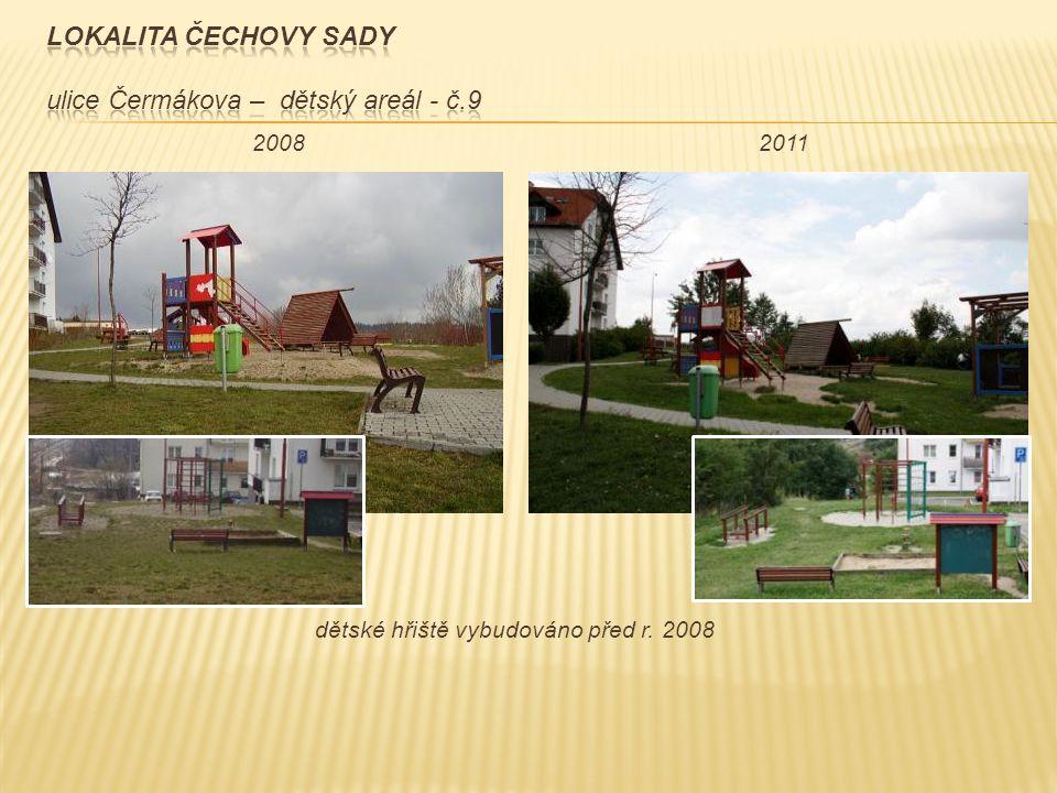 dětské hřiště vybudováno před r. 2008