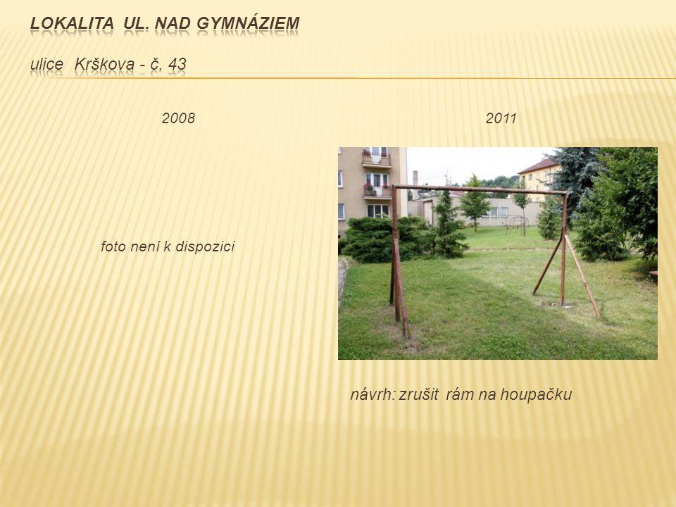 návrh: zrušit rám na houpačku foto není k dispozici 2008 2011