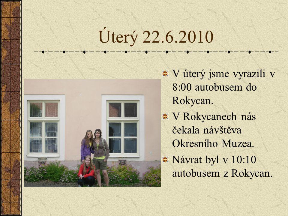 Středa 23.6.2010 8:00 jsme vyrazili do Těškovských lesů.