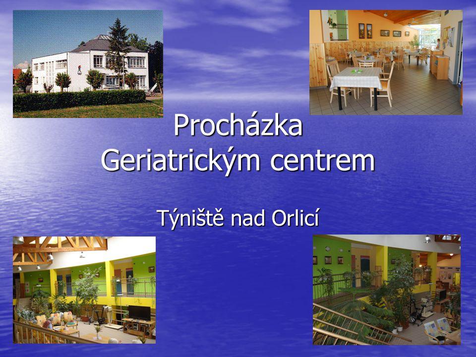 Procházka Geriatrickým centrem Týniště nad Orlicí