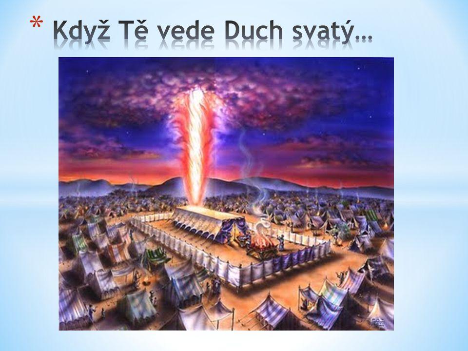Nu 9/15-23 V den, kdy byl Příbytek postaven, přikryl Příbytek při Stanu svědectví oblak.