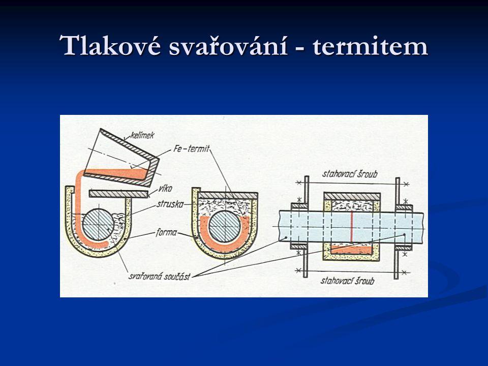 Tlakové svařování - termitem
