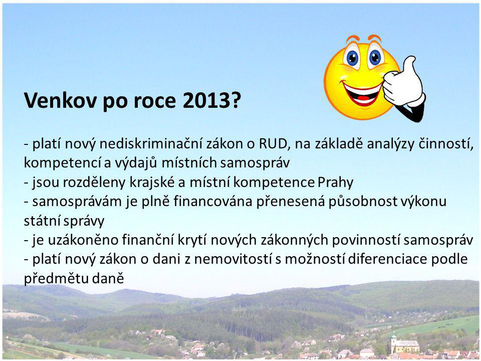 Venkov po roce 2013.