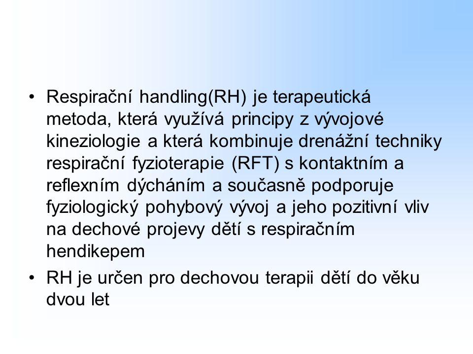 Respirační handling(RH) je terapeutická metoda, která využívá principy z vývojové kineziologie a která kombinuje drenážní techniky respirační fyzioter