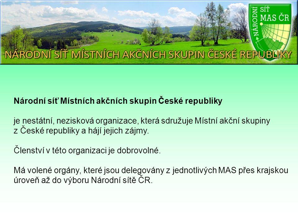 Národní síť Místních akčních skupin České republiky je nestátní, nezisková organizace, která sdružuje Místní akční skupiny z České republiky a hájí jejich zájmy.