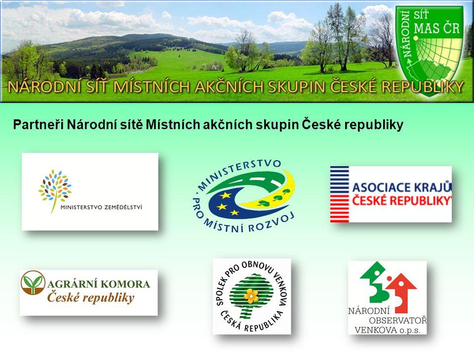 Partneři Národní sítě Místních akčních skupin České republiky