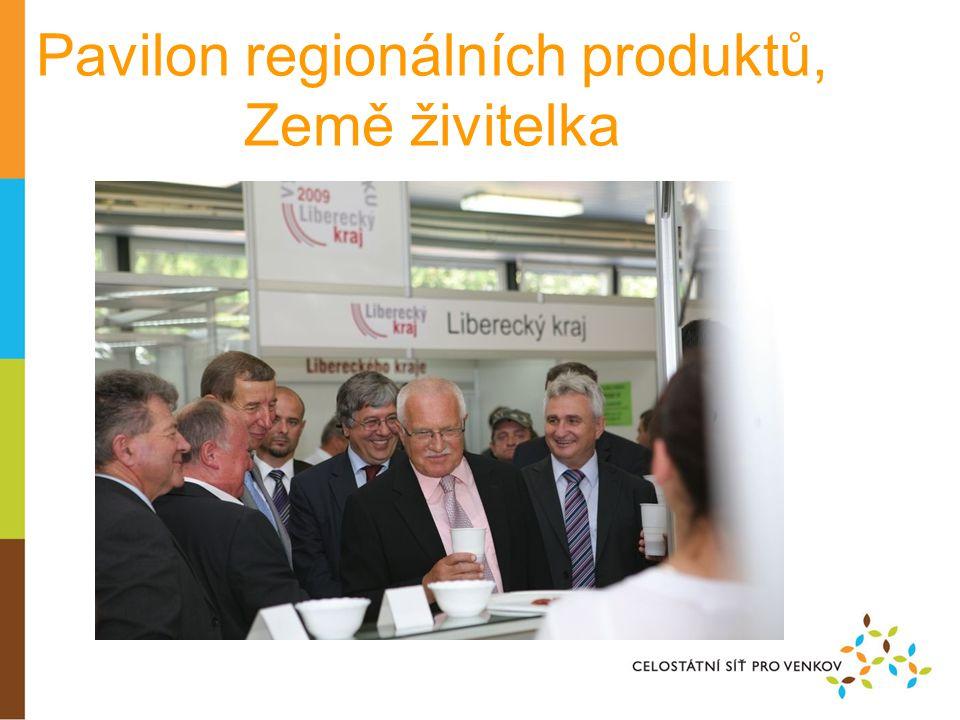Pavilon regionálních produktů, Země živitelka