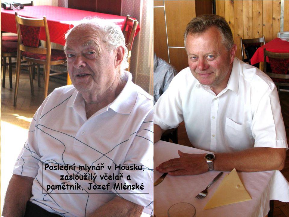 Poslední mlynář v Housku, zasloužilý včelař a pamětník, Jozef Mlénské