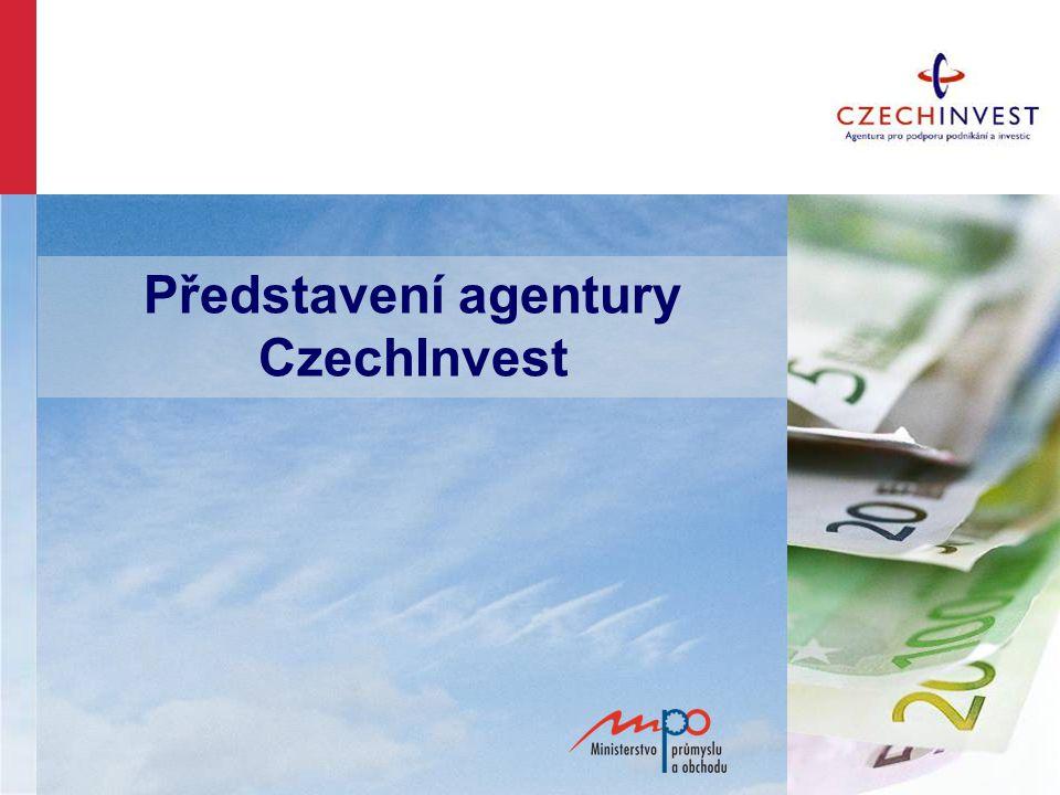 Představení agentury CzechInvest