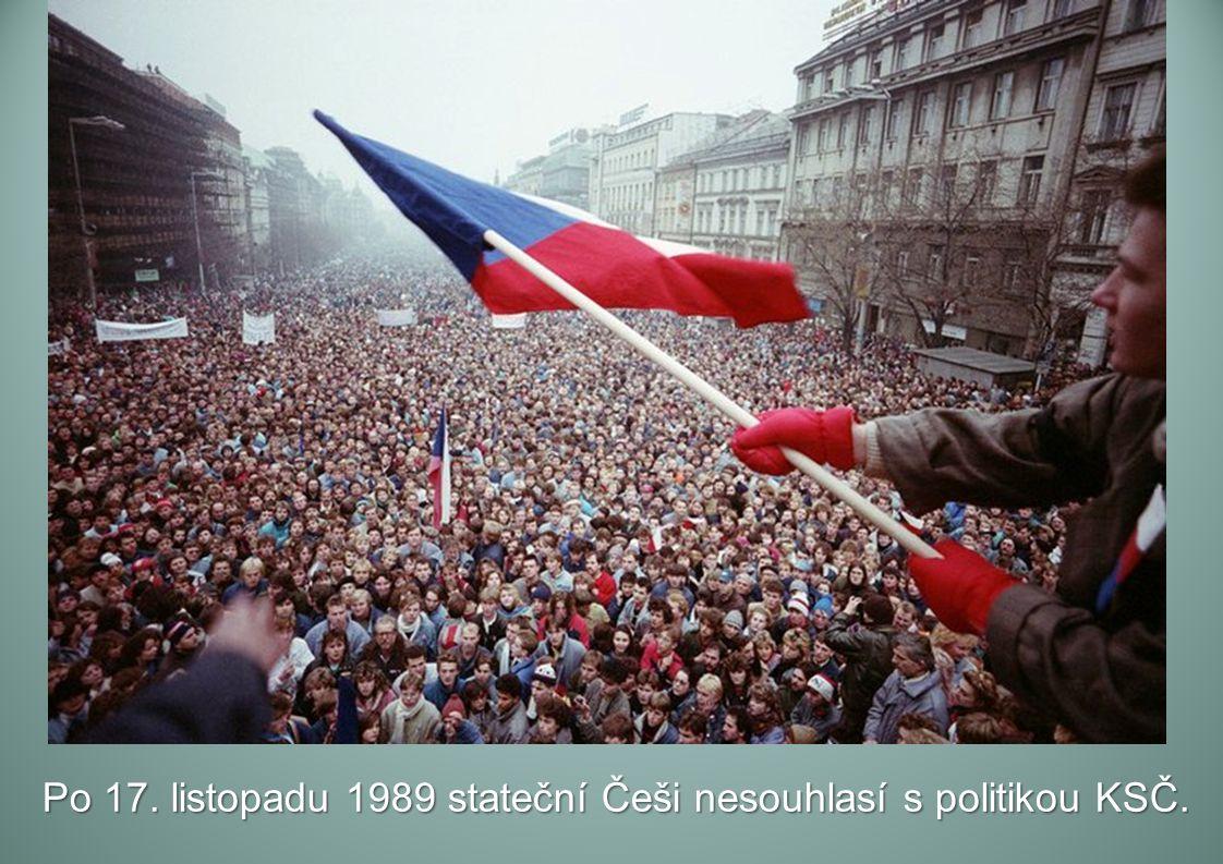 Ve volbách roku 1986 volilo téměř 100 Ve volbách roku 1986 volilo téměř 100% Čechů kandidáty KSČ.