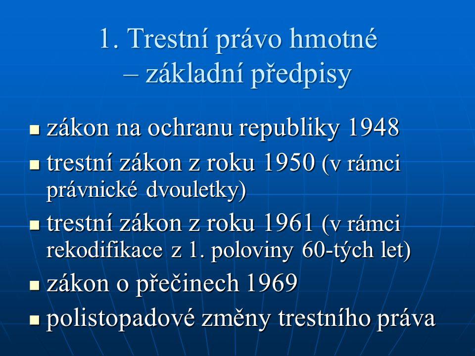 Přestupkový zákon z roku 1961 č.60/1961 Sb.