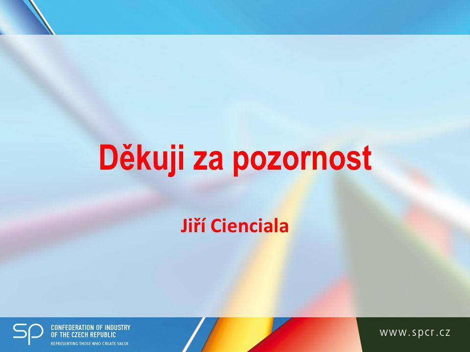 Děkuji za pozornost Jiří Cienciala