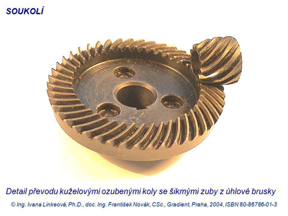 © Ing. Ivana Linkeová, Ph.D., doc. Ing. František Novák, CSc., Gradient, Praha, 2004, ISBN 80-86786-01-3 Detail převodu kuželovými ozubenými koly se š