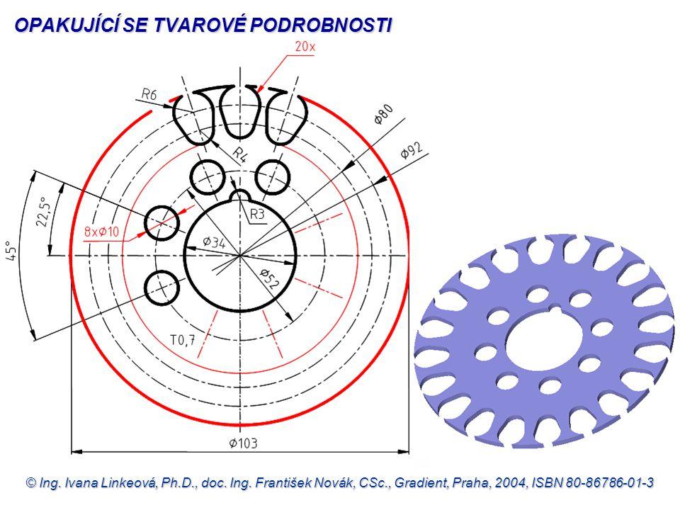 © Ing. Ivana Linkeová, Ph.D., doc. Ing. František Novák, CSc., Gradient, Praha, 2004, ISBN 80-86786-01-3 OPAKUJÍCÍ SE TVAROVÉ PODROBNOSTI