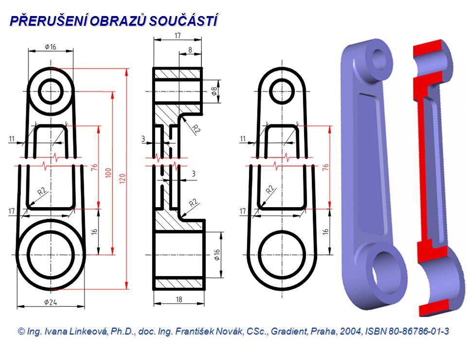 © Ing. Ivana Linkeová, Ph.D., doc. Ing. František Novák, CSc., Gradient, Praha, 2004, ISBN 80-86786-01-3 PŘERUŠENÍ OBRAZŮ SOUČÁSTÍ